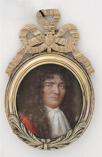 PETITOT Jean le Vieux : Portrait présumé de M. de Malézieux