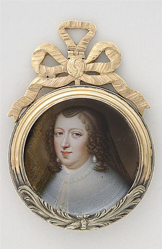 PETITOT Jean le Vieux : Portrait d'Anne d'Autriche