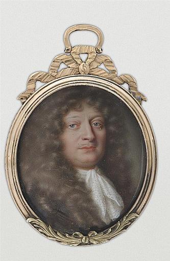 PETITOT Jean le Vieux : Portrait présumé du comte de Grignan