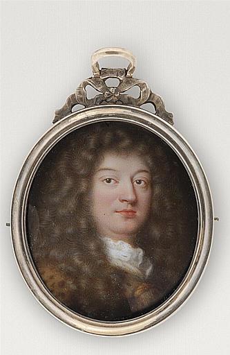 PETITOT Jean le Vieux : Portrait de Jean Chardin, célèbre voyageur
