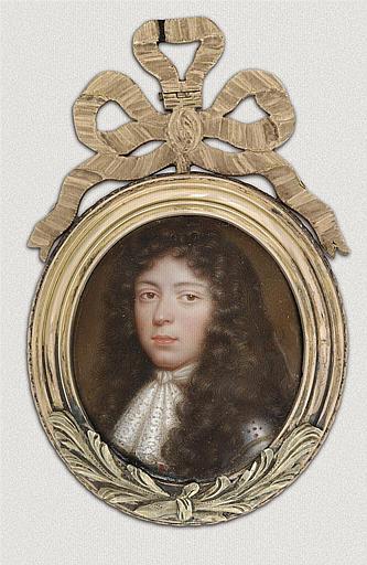 PETITOT Jean le Vieux : Portrait présumé du marquis de Villarceaux