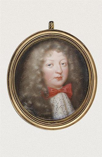 Portrait du grand dauphin, probablement fils de Louis XIV