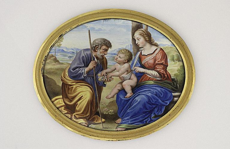 La Sainte Famille au palmier