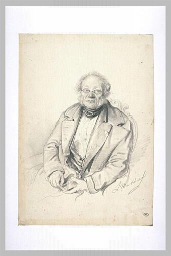 Portrait d'Habeneck, chef d'orchestre_0