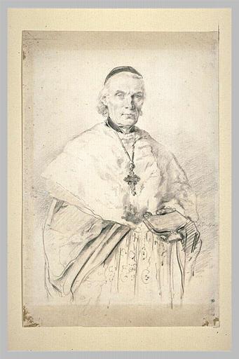 Portrait de Mgr. Mabile, évêque de Versailles