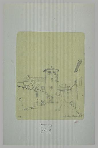 BARBOT Prosper : Rue à Alexandrie