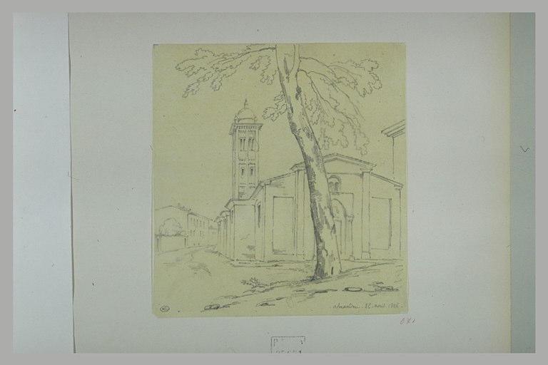 Place avec une église, à Alexandrie_0
