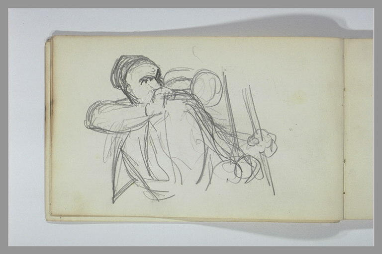 YVON Adolphe : Un soldat jouant de la trompette