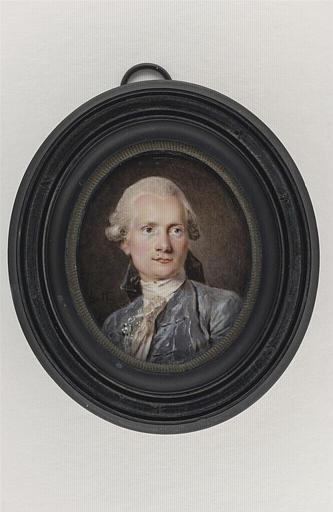 Portrait du miniaturiste Charles Paul Jérôme de Bréa_0