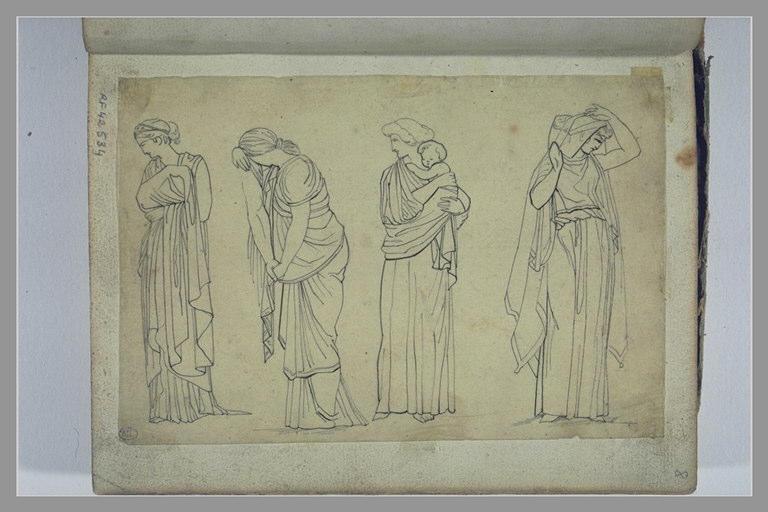 YVON Adolphe : Etudes de figures d'après l'antique