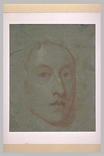 Portrait d'Horace Walpole, de face
