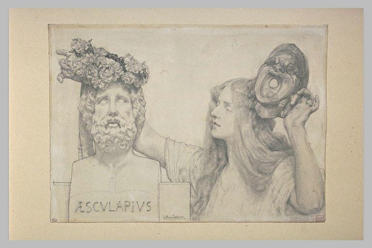 Le couronnement d'Esculape