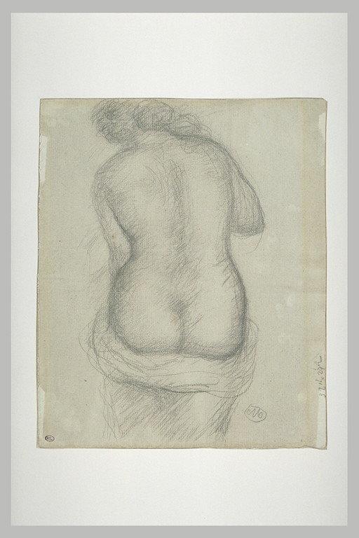 Femme nue, vue de dos