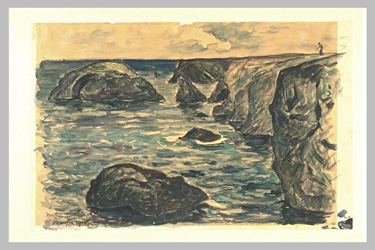 Falaises de la côte sauvage
