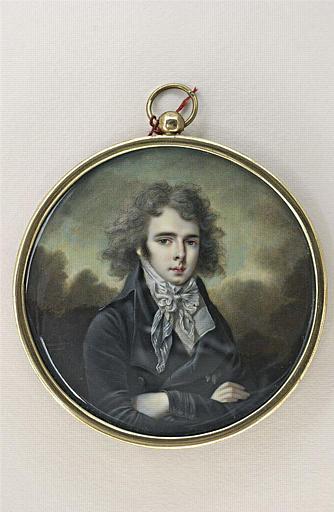 CHATEAUBOURG Le Chevalier de : Portrait du prince Anton Radziwill (1755-1833)