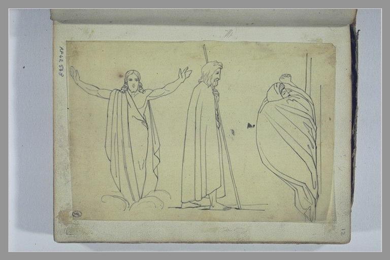 YVON Adolphe : Etude de trois figures