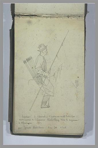 YVON Adolphe : Un cavalier tatar