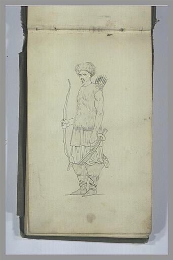 YVON Adolphe : Un guerrier tatar