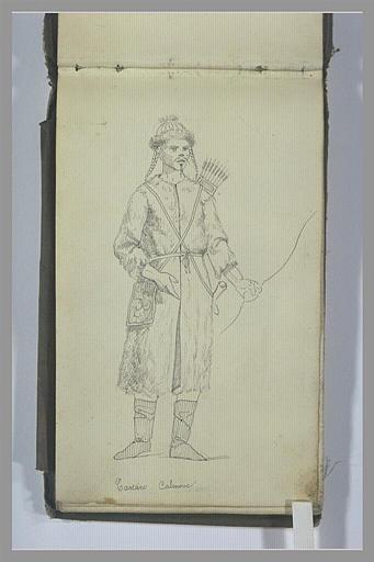 Un guerrier tatar Kalmuk