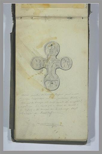 YVON Adolphe : Un croix sculptée
