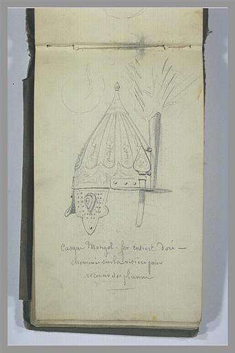 YVON Adolphe : Un casque mongol