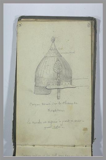Un casque trouvé sur le champ de Koulikov_0