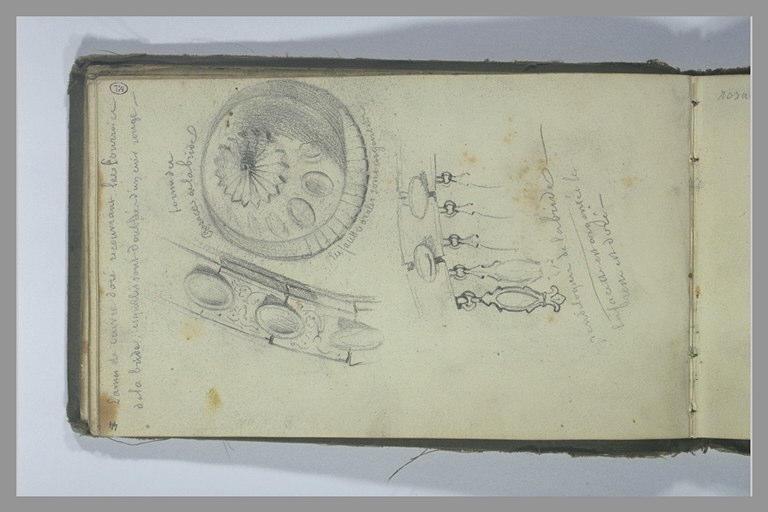 YVON Adolphe : Eléments décoratifs d'harnachement