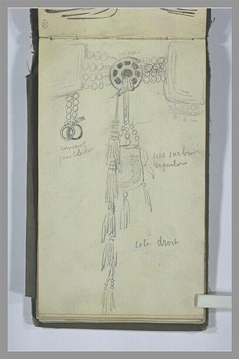 YVON Adolphe : Eléments décoratifs de vêtement