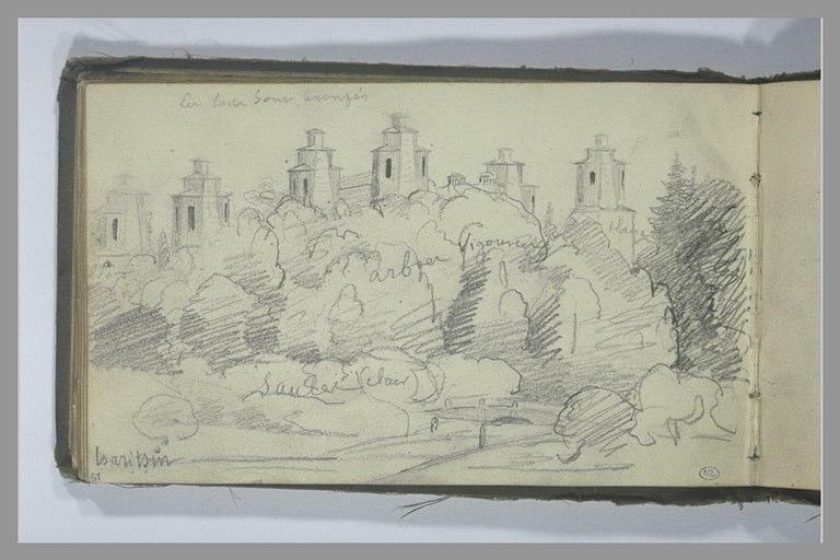 YVON Adolphe : Paysage à Tsaritsin