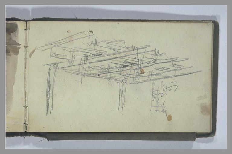 YVON Adolphe : Un plafond en bois