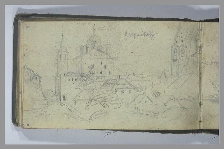 YVON Adolphe : Vue de la ville de Serpukhov