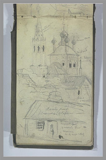 Vue de la ville de Serpukhov