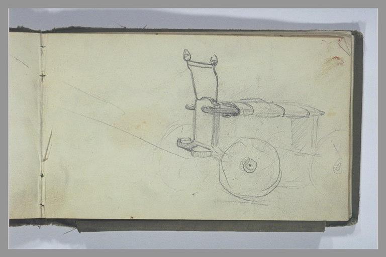 YVON Adolphe : Un charriot à quatre roues