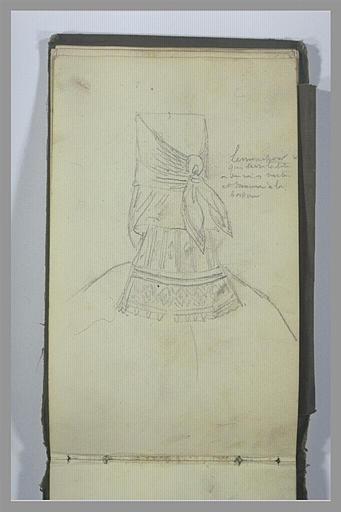 YVON Adolphe : Etude de détails de costume