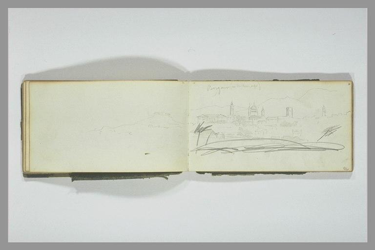 YVON Adolphe : Paysage de Bergame