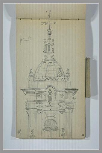 Un édifice baroque, à Fontarabie