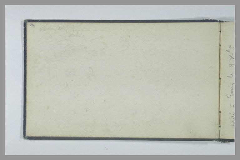 Inscription manuscrite et griffonage