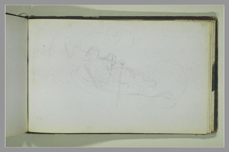 YVON Adolphe : Figure volante