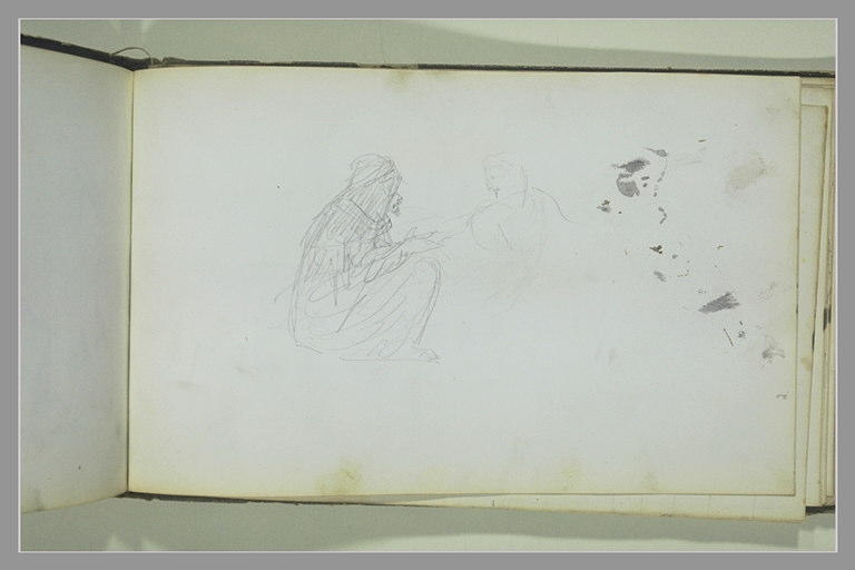 YVON Adolphe : Deux figures