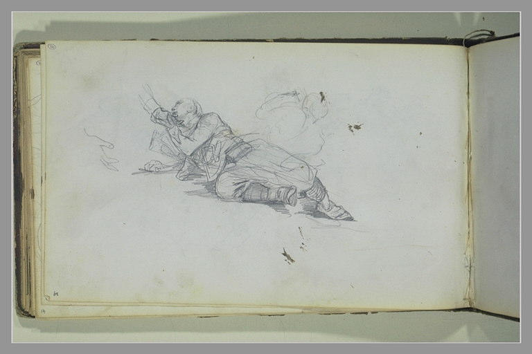 YVON Adolphe : Soldat à terre