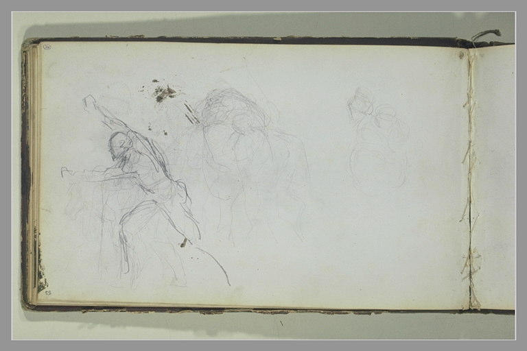 YVON Adolphe : Etudes de figures