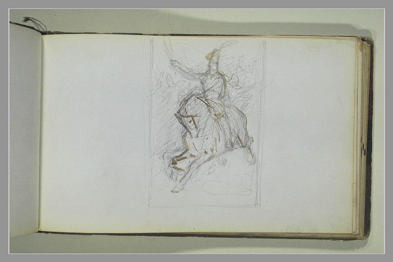 YVON Adolphe : Soldat à cheval
