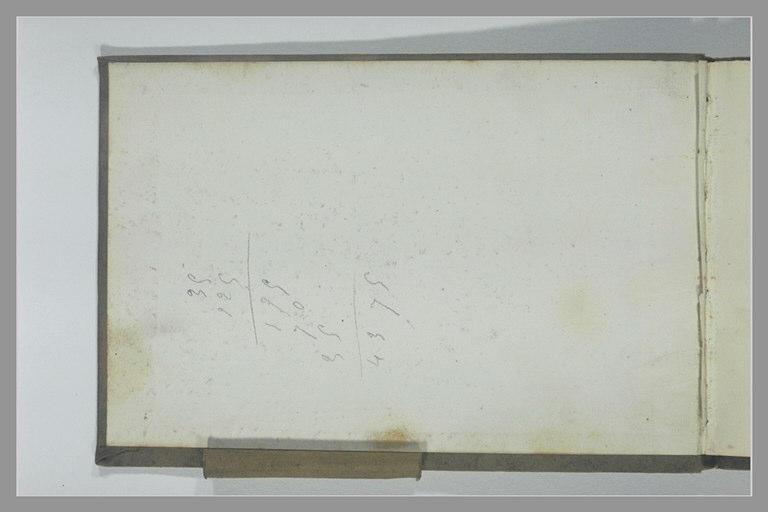 Calculs manuscrits