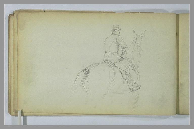 YVON Adolphe : Un soldat à cheval