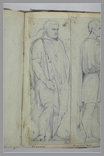 Homme drapé, d'après l'antique_0