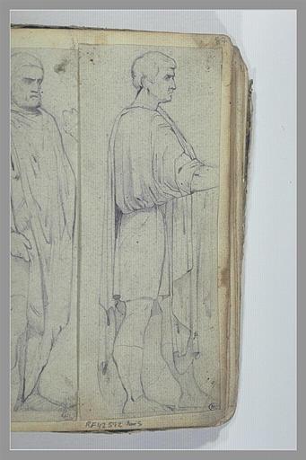 Homme drapé, d'après l'antique