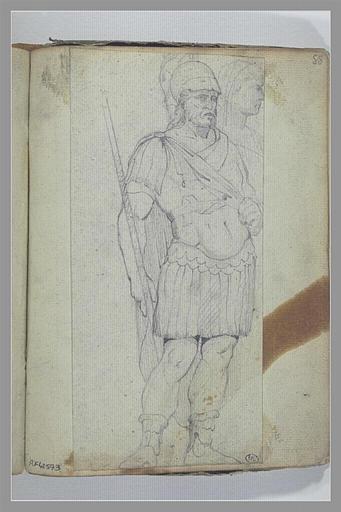 Un soldat d'après l'antique