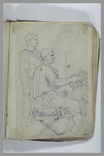 YVON Adolphe : Soldats d'après l'antique