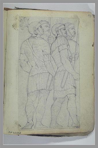 Soldats d'après l'antique