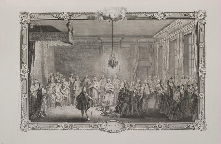 DUCHANGE Gaspard, DULIN Pierre (inspiré par) : Le lever du Roi